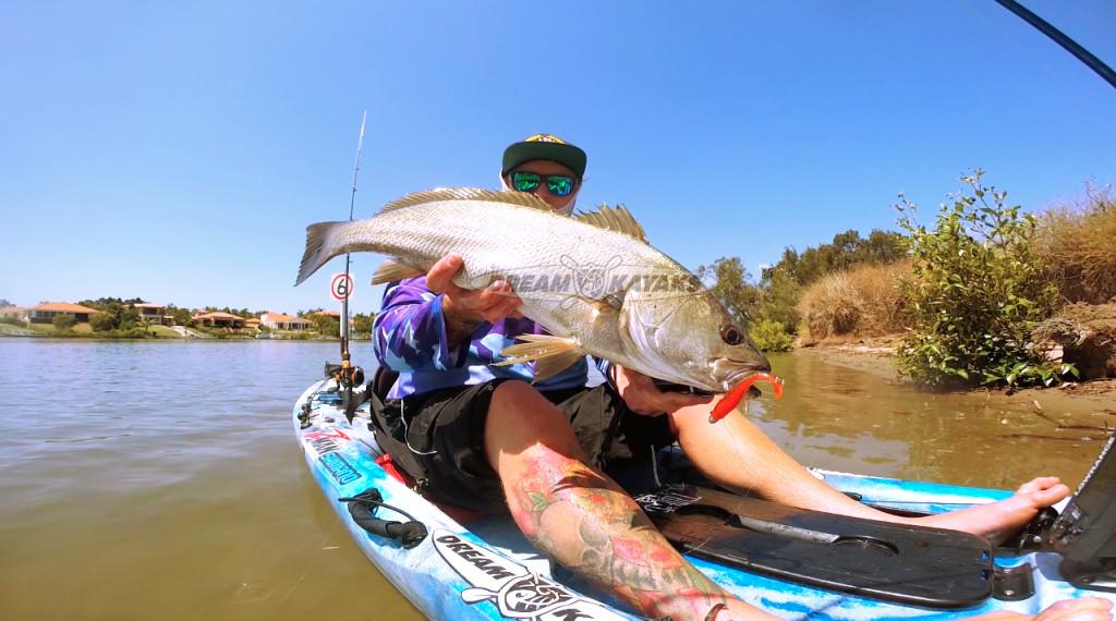 Perth Kayaks - Steele with Jewfish